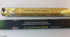 I bought these - vanilla cinnamon to give the body energy, and cannabis for exploring my deepest thoughts :D