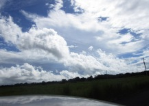 As we got closer to Via Boquete the clouds were amazing