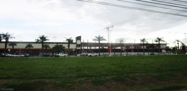 The mall, as seen from the PanAmerican highway