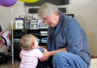 Marian and Grandma