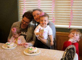 Yeah, fun with cake!