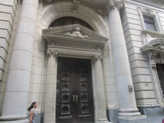 many buildings have huge amazing doors