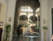 beautiful entrance to the Hotel Florida