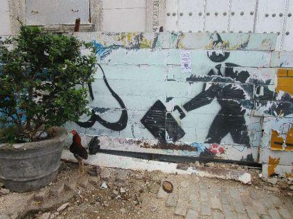 walking back towards Old Havana, more street art
