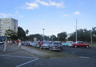 Where there are tourists, there will be shiny classic cars