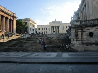 Havana University, just a tiny bit of the very large campus