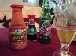 Salsa Brava? LOL Brava is an adjective used a lot for bad tempered guard dogs.