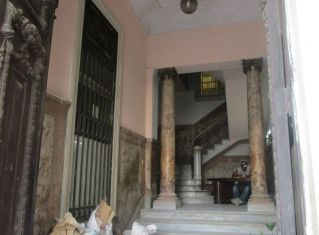 beautiful staircase in a building under renovation