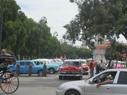 Yep, tourists = cool cars