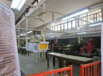 the art studio, printing area