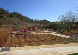 a playground in progress