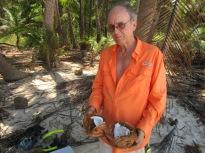 Fresh coconut! yummm