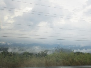 clouds on the ground (excuse photo taken from a moving car out the drivers side window)