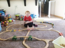 Camden and I built a heck of a tracks creation.