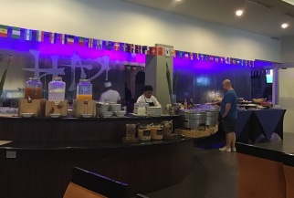 Great breakfast buffet. They even have a cook who will make you an omelet to order