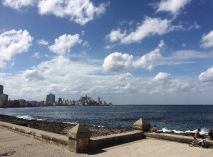 We head down the Malecon