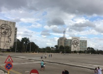 plaza de la revolucion, the other side