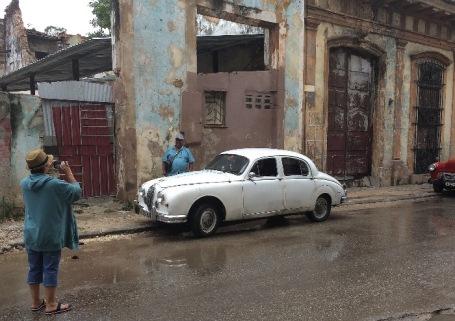 Lucho finds his Jaguar