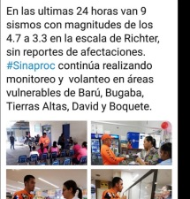 From the Radio Chiriqui Facebook page
