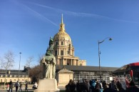 Dome de Invalides, from 1600's, tomb of Napoleon and enough other interesting history that it's worth looking up