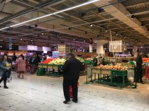 The produce department was excellent too with large selection of fresh, affordable options
