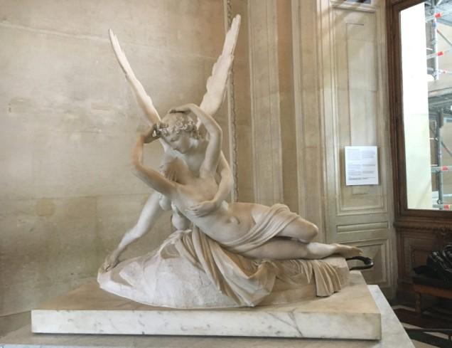 last but not least, my very favorite, Psyche Revived by Cupid's Kiss, Antonio Canova 1793