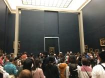 Yes, we saw the Mona Lisa